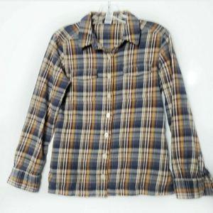 Patagonia 100% Organic Cotton Gingham Shirt